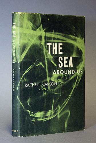 "<span id=""docs-internal-guid-f989058c-2852-c7bf-8b39-2bf7081510e7""><span>An image of </span><em>The Sea Around Us</em><span> by Rachel Carson</span></span>"