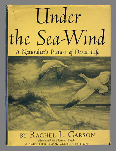 """<span id=""""docs-internal-guid-f989058c-2855-280c-6f62-9463ff38b4ca""""><span>An image of </span><em>Under the Sea-Wind: A Naturalist&rsquo;s Picture of Ocean Life</em><span> by Rachel Carson</span></span>"""