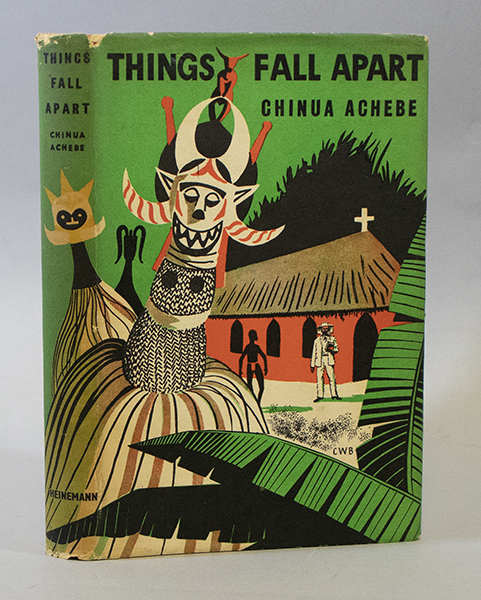 An image of <em>Things Fall Apart</em> by Chinua Achebe