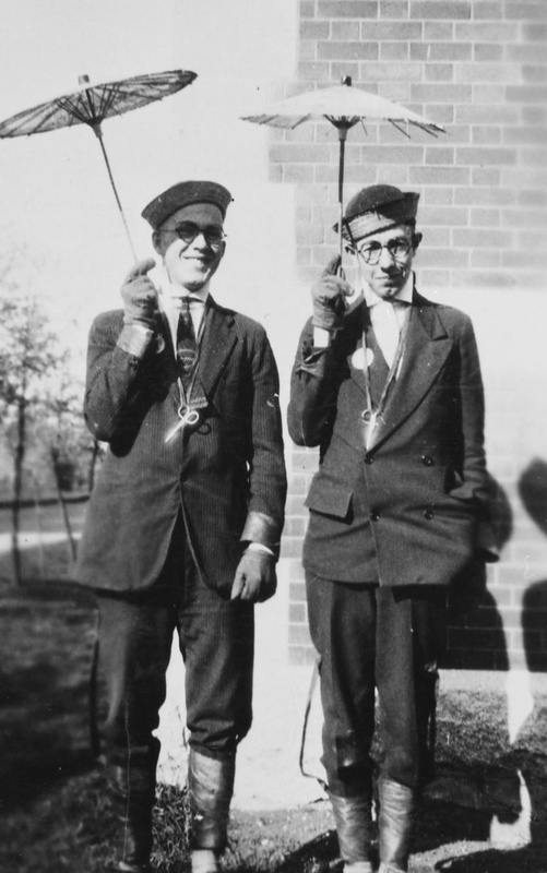 """Freshies"" J.W. Bayne & H.F. Critchley, October 1926"