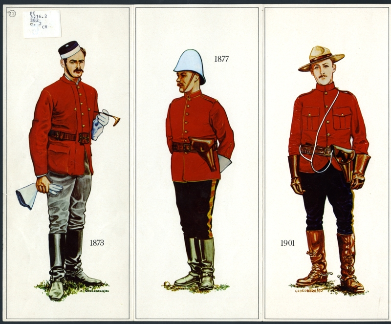 Steele Collection NWMP uniforms