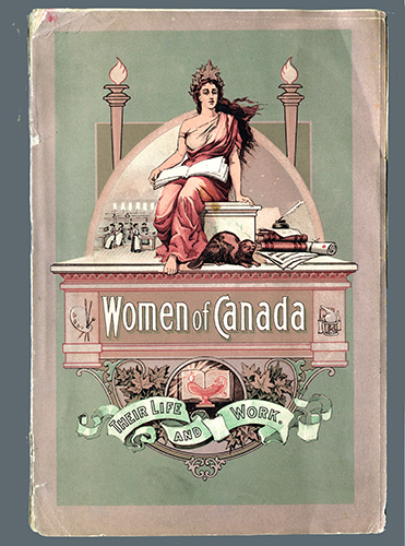 """<span id=""""docs-internal-guid-f989058c-27f6-bf06-1c0f-2e3c8ee8ff7f""""><span>An image of </span><em>Women of Canada: Their Life and Work</em><span> by National Council of Women in Canada</span></span>"""