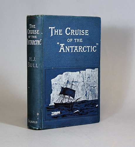 "<span id=""docs-internal-guid-f989058c-1de1-4a71-f514-66b8fcd0068f""><span>An image of </span><em>The Cruise of the &ldquo;Antarctic&rdquo; to the South Polar Regions</em><span> by H. J. Bull</span></span>"