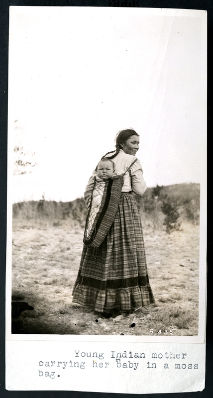 box 3 folder 5 photograph of young indian mother.jpg