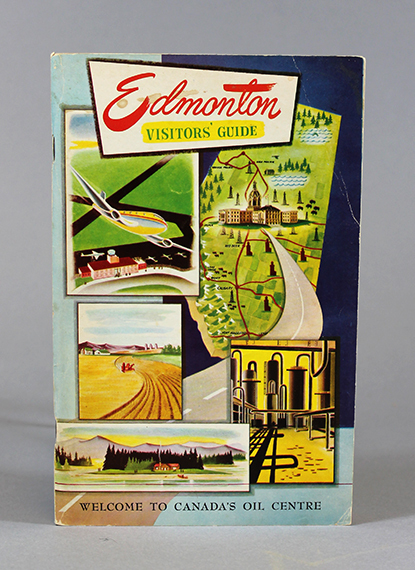 An image of&nbsp;<span><em>Edmonton Visitors&rsquo; Guide</em></span>