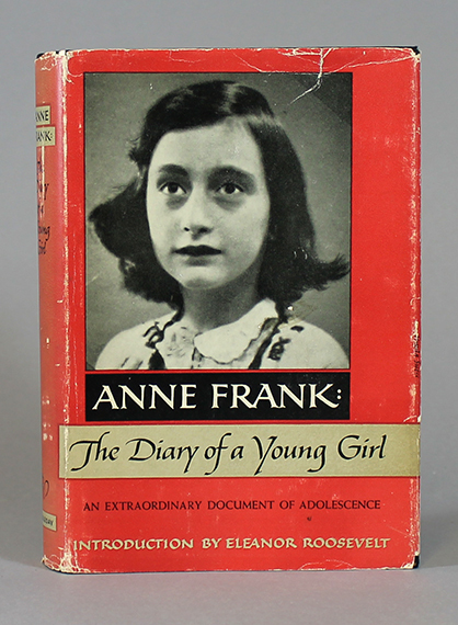 An image of&nbsp;<span><em>The Diary of a Young Girl</em></span><em>&nbsp;</em>by&nbsp;<span>Anne Frank</span>