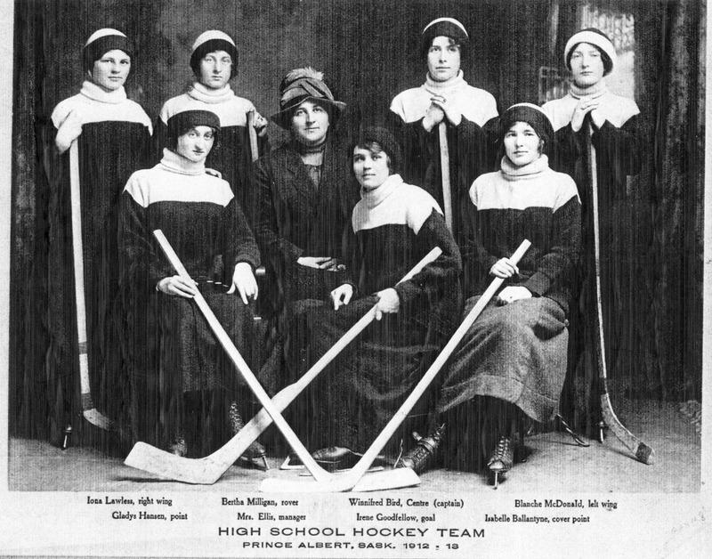 Girls' Hockey Team, Prince Albert C.I.