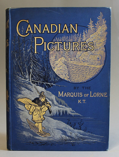 """<span id=""""docs-internal-guid-f989058c-23a0-4d03-a332-c480fcf1acd6""""><span>An image of </span><em>Canadian Pictures</em><span> by John Douglas Sutherland Campbell, the Marquis of Lorne</span></span>"""