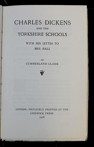"<span id=""docs-internal-guid-f989058c-2842-eeea-90eb-6c1b5600267c""><span>An image of </span><em>Charles Dickens and the Yorkshire Schools</em><span> by Cumberland Clark</span></span>"
