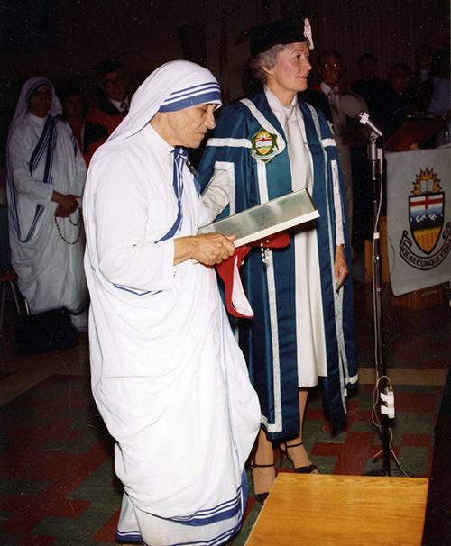 An image of Mother Teresa