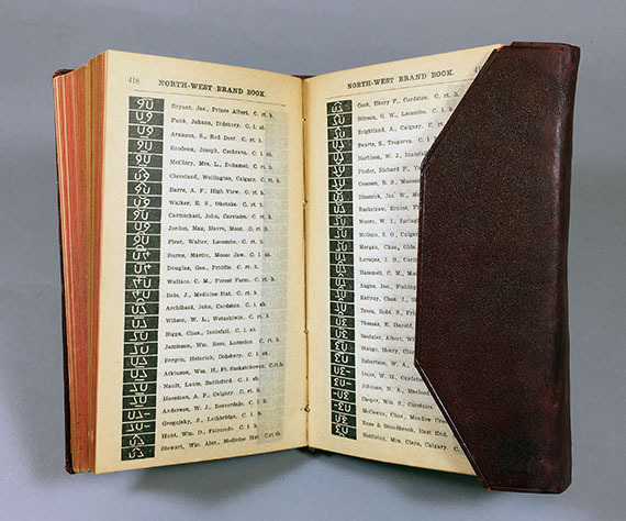 An image of <em>North-West Brand Book</em> by the Department of Agriculture, N.W.T.