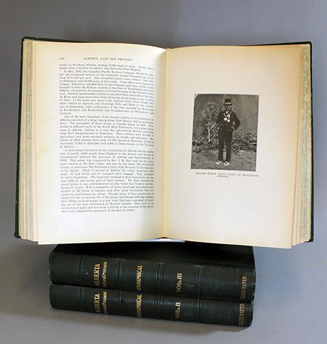 "<span id=""docs-internal-guid-f989058c-27f9-b80b-2519-b2079015badb""><span>An image of </span><em>Alberta Past and Present: Historical and Biographical</em><span> by John Blue</span></span>"