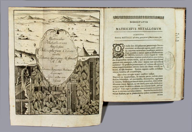 "<span id=""docs-internal-guid-f989058c-236f-97c8-3ef4-063b4e5d1e03""><span>An image of </span><em>De Matricibus Metallorum Amplissimi Philosophorum Ordinis Induttu</em><span> by Johann Georg Hoffmann</span></span>"