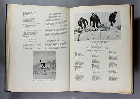 An image of <em>Official Report: III Olympic Winter Games, Lake Placid 1932&nbsp;</em>by George M. Lattimer