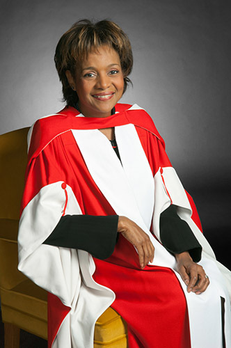 An image of Michaelle Jean