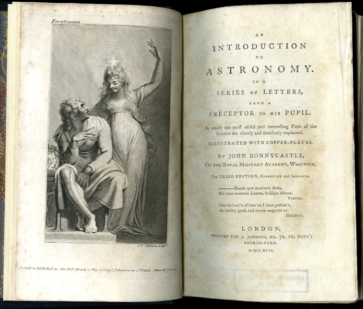 """<span id=""""docs-internal-guid-f989058c-2836-2a88-8bd7-bc92c0f5078d""""><span>An image of </span><em>An Introduction to Astronomy</em><span> by John Bonnycastle</span></span>"""