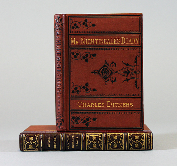 An image of&nbsp;<em>Mr. Nightingale's Diary</em> by Charles Dickens