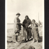 Miriam Green Ellis Posing with First Nations Woman and Children