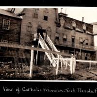 Catholic Mission at Fort Resolution