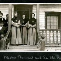 The Mother Provincial and Sister Ste. Rose at the Providence Catholic Mission