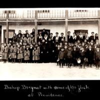 Bishop Breynat and Catholic Mission Residents