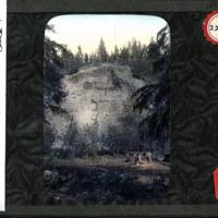 Magic Lantern Slide - Tar Sands