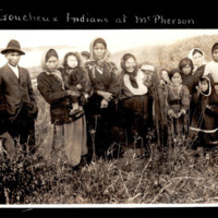 Loucheux First Nations at Fort MacPherson