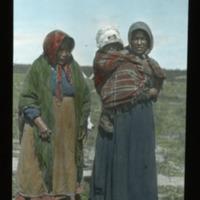 Slavie Women with Baby