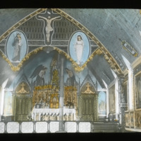 Interior of Roman Catholic Church