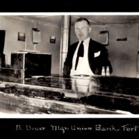 B. Beuer, Manager of the Fort Smith Union Bank