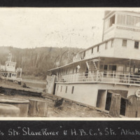 Steam Wheelers - 'Slave River' and 'Athabasca River'