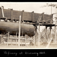 Refinery at Discovery Well