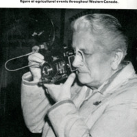 Miriam Green Ellis With Camera