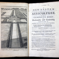 An image of A New System of Agriculture: Being a Complete Body of Husbandry and Gardening by John Laurence