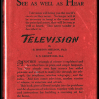 An image of Television: Present Methods of Picture Transmission by H. Horton Sheldon and Edgar Norman Grisewood