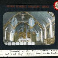 Magic Lantern Slide - Roman Catholic Church