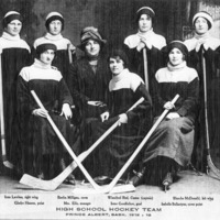 Girls' Hockey Team, Prince Albert C.I.