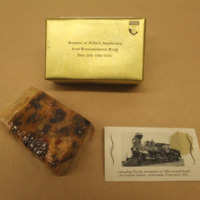 Souvenir of Fiftieth Anniversary: First Continental Train, June 28th 1886-1936