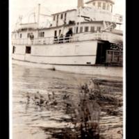 Steam Wheeler 'Slave River' Near Fort Chipewyan