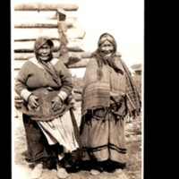 Two Loucheux Women at Fort McPherson