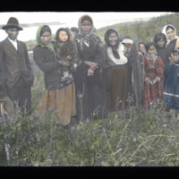 Group Portrait of Loucheux First Nations