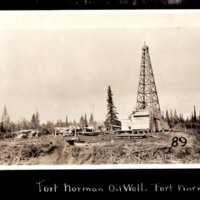 Oil Well at Fort Norman