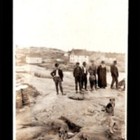 First Nations at Fort Chipewyan with Bishop Grouard