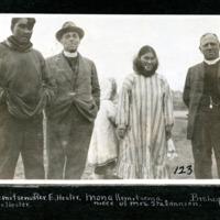 Billy Kemistsema, Reverend Hester, Mona Kemitsema and Bishop Lucas