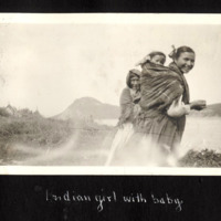 First Nations Woman with Baby
