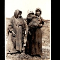Two Slavie First Nation Women with Baby