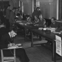 Engineer Freshmen Registration, 1942