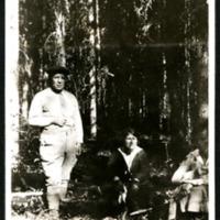 Major Burwash, Ethel and Mrs. Gooch