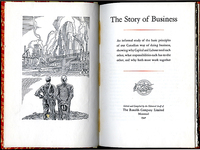 An image of The Story of Business by The Ronalds Company