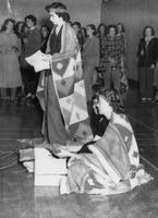 Wauneita Initiations, October 1949